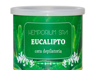 Cera depilatoria eucalipto